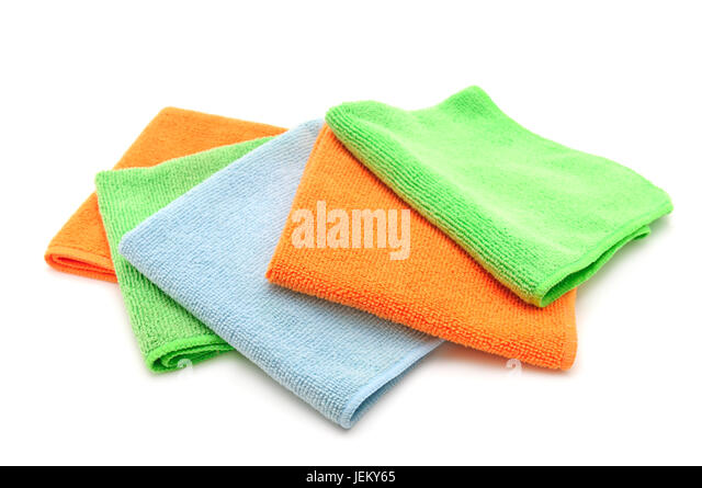 how to clean white microfiber face cloths