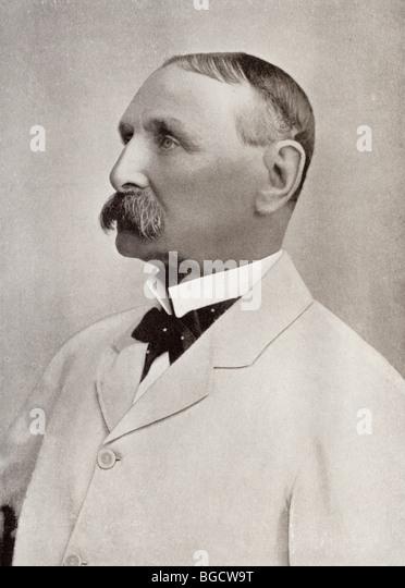 Lieutenant General Sir Charles Tucker, died 1935. British Army General. - Stock Image