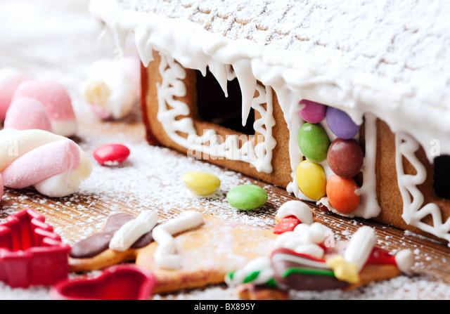 gingerbread - Stock-Bilder