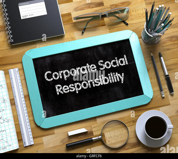 the concept of corporate social responsibility reports 21 the concept  the notion of corporate social responsibility is an elusive one it  report on the social and environmental impact of their conduct and.