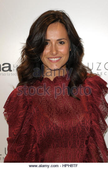 Michela Coppa milano 27-09-2016 - Stock-Bilder