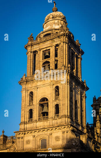 The Metropolitan Cathedral of the Assumption of the Most Blessed Virgin Mary into Heaven is the largest cathedral - Stock Image