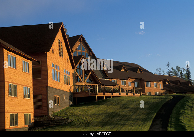Alaska Talkeetna Alaskan Lodge - Stock Image