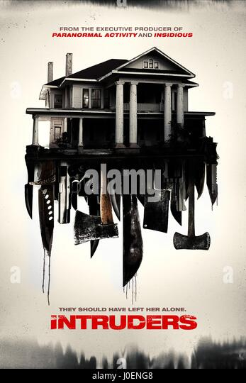 MOVIE POSTER INTRUDERS; SHUT IN (2015) - Stock Image