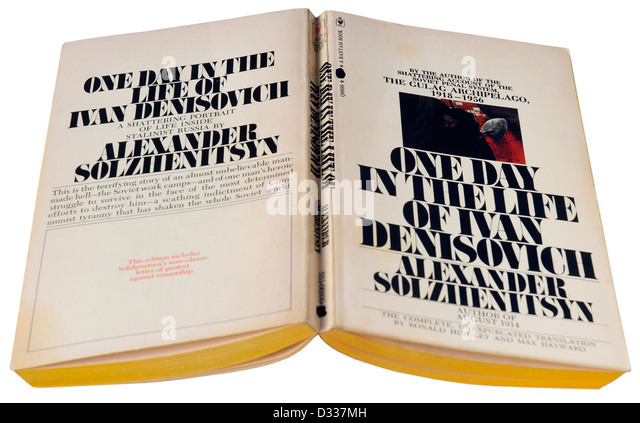 an analysis of one day in the life of ivan denisovich by alexander solzhenitsyn Aleksandr solzhenitsyn's one day in the life of ivan denisovich (hereinafter  referred  this novel has been subjected to substantial analysis.