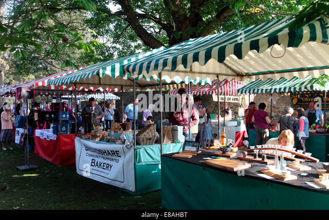 Eat and Drink Linlithgow Food Festival. - Stock Image