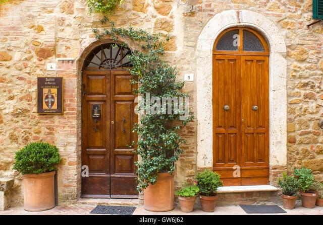 Beautiful Italian House Entrance Stairs Stock Photos