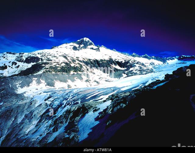 Rhone Glacier Switzerland Europe. Photo by Willy Matheisl - Stock Image