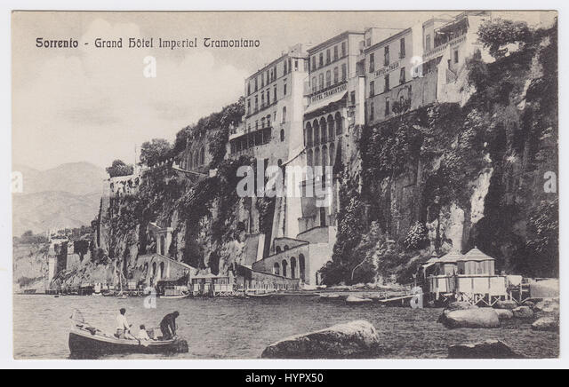 Grand Hotel Imperial Tramontano, Sorrento, Italy - Stock Image