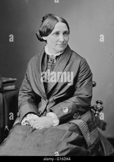 Lucy Ware Webb Hayes (August 28, 1831 - June 25, 1889) was a First Lady of the United States and the wife of President - Stock Image