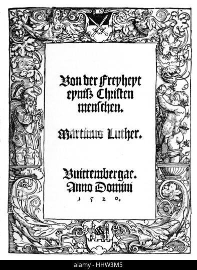 Overview martin luther s christian liberty