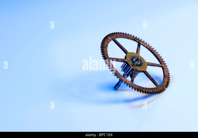 Watch cog - Stock Image