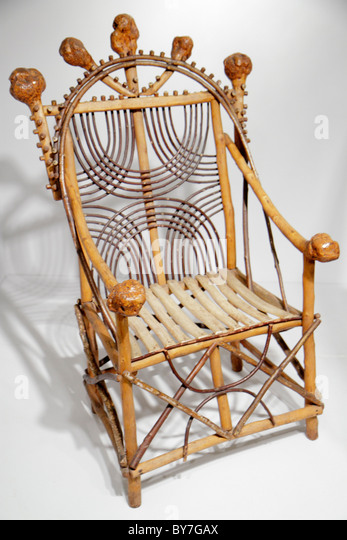 Pennsylvania Philadelphia Philadelphia Museum of Art institution exhibition American collection armchair 1900 wood - Stock Image