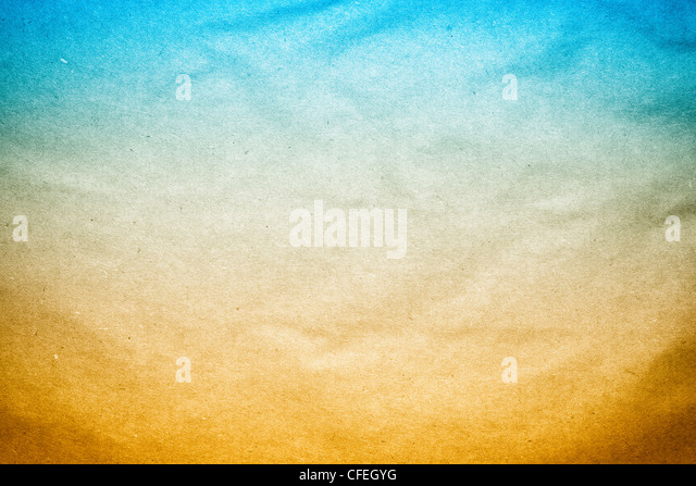 the Old Blue Brown Background paper texture - Stock Image