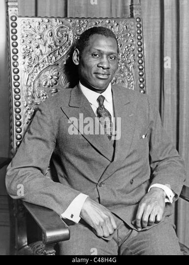 Paul Robeson, - Stock Image