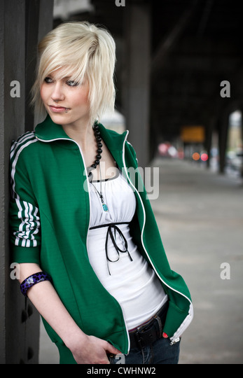 young woman,lifestyle,youth culture - Stock Image