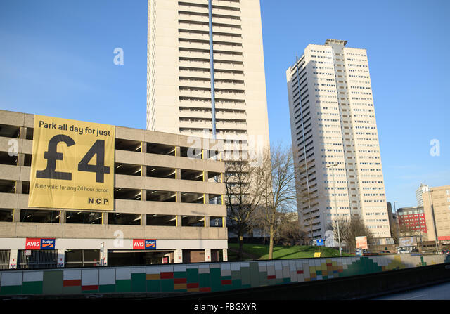 Car Parking In Manchester City Centre Ncp