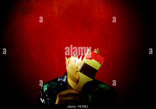 Wallflower - Stock Image