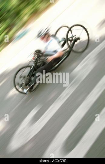 international wheelchair marathon Rollstuhlmarathon - Stock Image