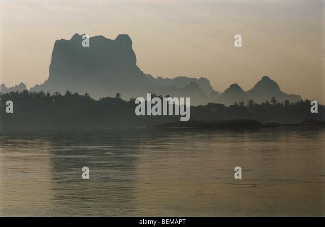 Myanmar (Burma), landscape - Stock-Bilder