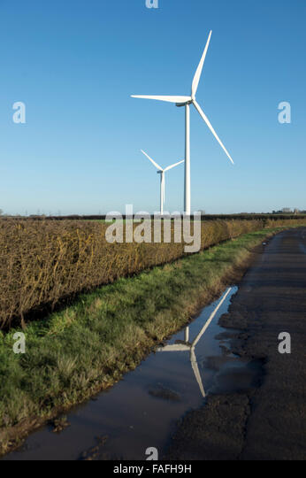 Imposing Wind Turbines Stock Photos Imposing Wind