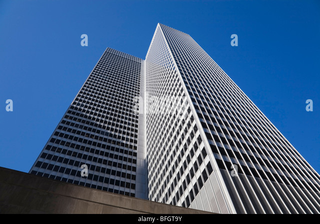 Place Ville-Marie building, Montreal, Quebec, Canada - Stock Image