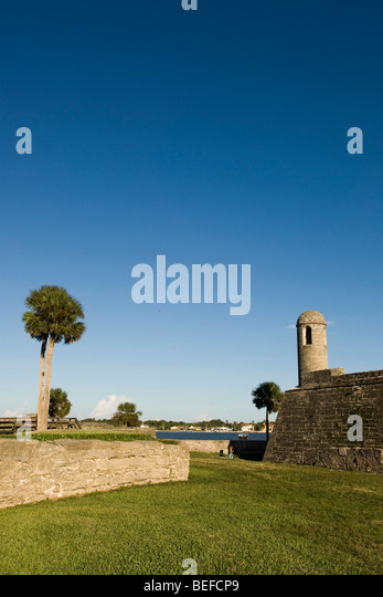 San Marcos National Monument in St. Augusinte, Florida - Stock-Bilder