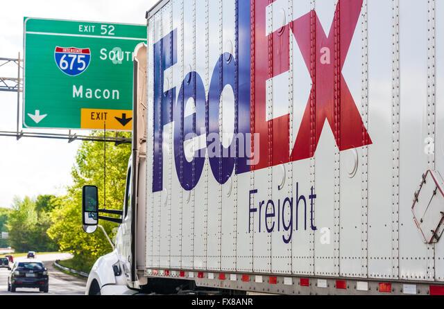Fedex Ground Stock Photos Fedex Ground Stock Images Alamy
