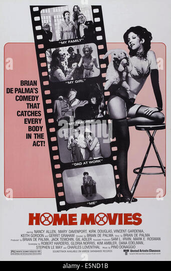 HOME MOVIES, Nancy Allen (right), 1980, © United Artists/courtesy Everett Collection - Stock Image