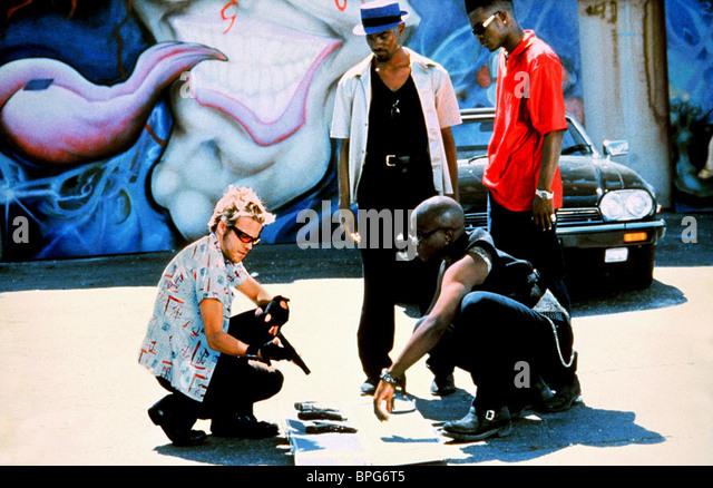STEPHEN DORFF MICHAEL JAI WHITE RENO WILSON CITY OF INDUSTRY (1997) - Stock-Bilder