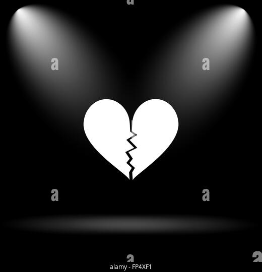 Broken Heart Black and White Stock Photos & Images - Alamy