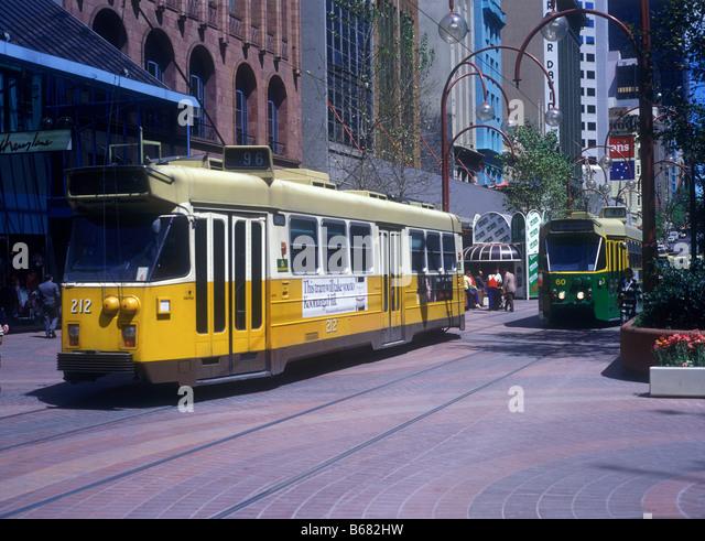Melbourne Tram Car Restaurant Background