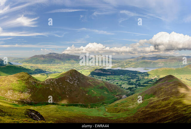 The Northern Fells - Stock-Bilder
