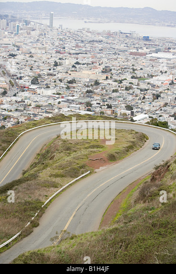 San francisco road - Stock Image
