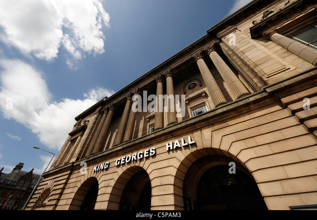 King George's Hall Blackburn - Stock Image