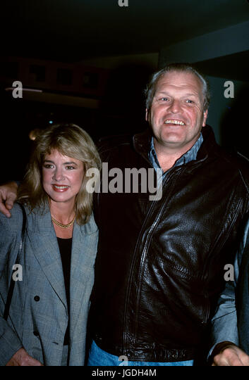 Brian Dennehy and Stockard Channing pictured at an event in 1989. © RTWM / MediaPunch - Stock Image