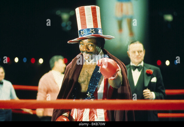 ROCKY -1976 CARL WEATHERS - Stock Image