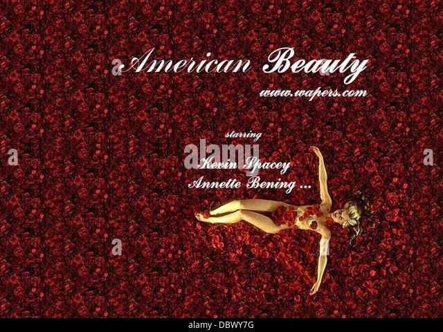 Movie Posters 1999: American Beauty 1999 Movie Poster Stock Photos & American