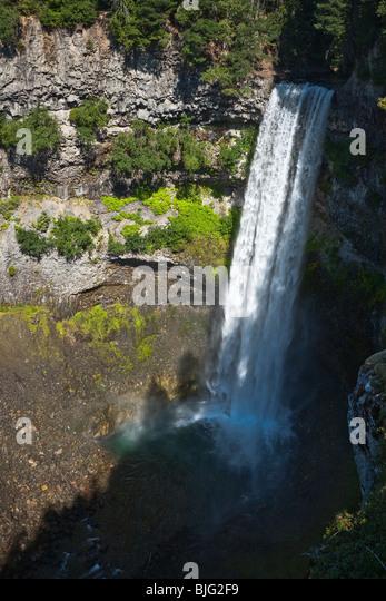 Brandywine falls nature park in Canada, British Columbia - Stock Image