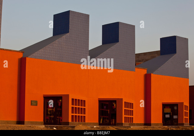 Day Care Center, American University in Cairo new campus, New Cairo, Egypt - Stock Image