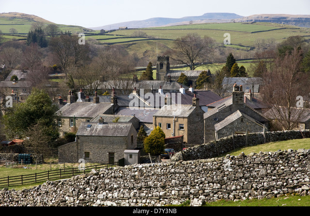 Traditional Yorkshire Dales View Stock Photos