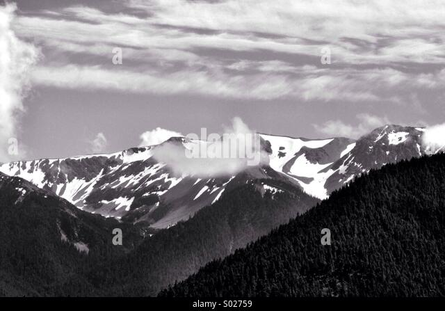 Winter scene in Northwest - Stock Image