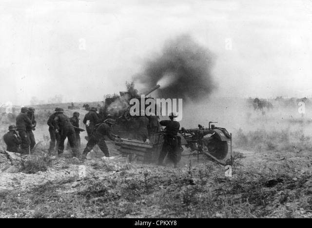Battle of Stalingrad, 1942 - Stock Image
