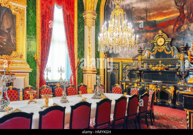 france paris inside dining room stock photos france paris inside dining room stock images alamy. Black Bedroom Furniture Sets. Home Design Ideas