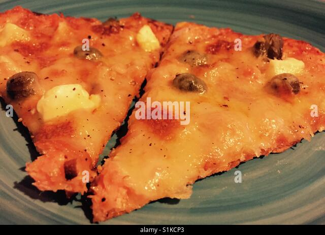 Slices of pizza - Stock Image