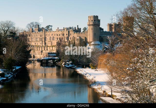 Warwick Castle - Stock Image