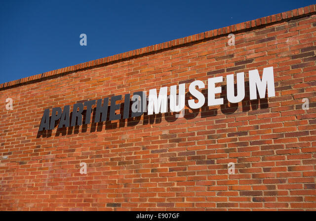 JOHANNESBURG, SOUTH AFRICA - Apartheid Museum. - Stock Image