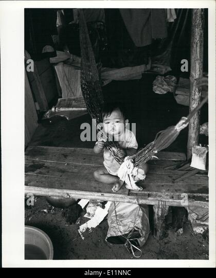 Jul. 07, 1979 - Coping with disaster: Refugees and displaced persons in South East Asia: The humanitarian commitment - Stock-Bilder