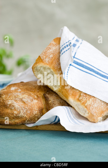 Freshly baked bread - Stock-Bilder