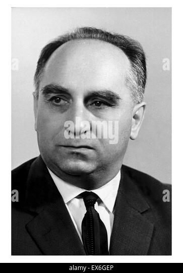 Stefan J?drychowski (9 May 1910 - 1996)[1] was a Polish journalist and communist politician, who served as deputy - Stock Image